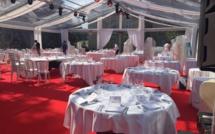 Réception dans les jardins du Château de Rueil-Malmaison